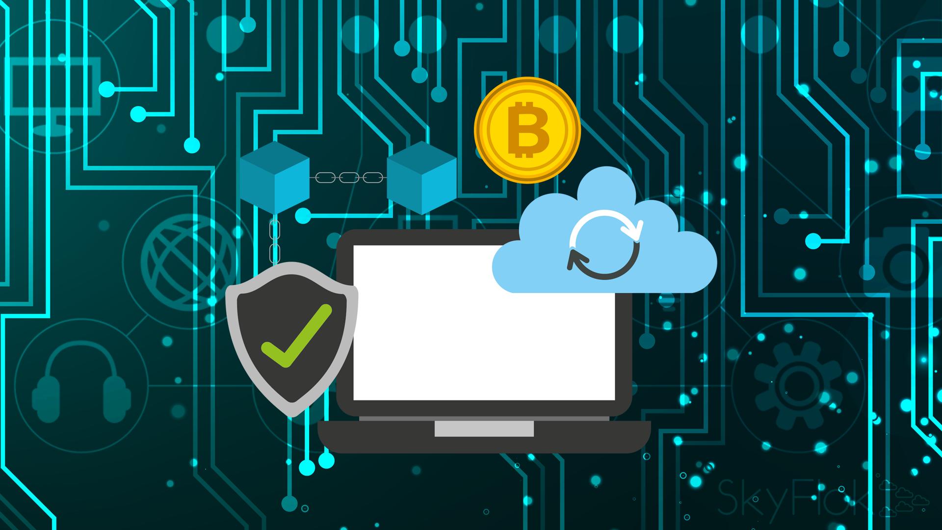 Decentralized data storage in a blockchain future