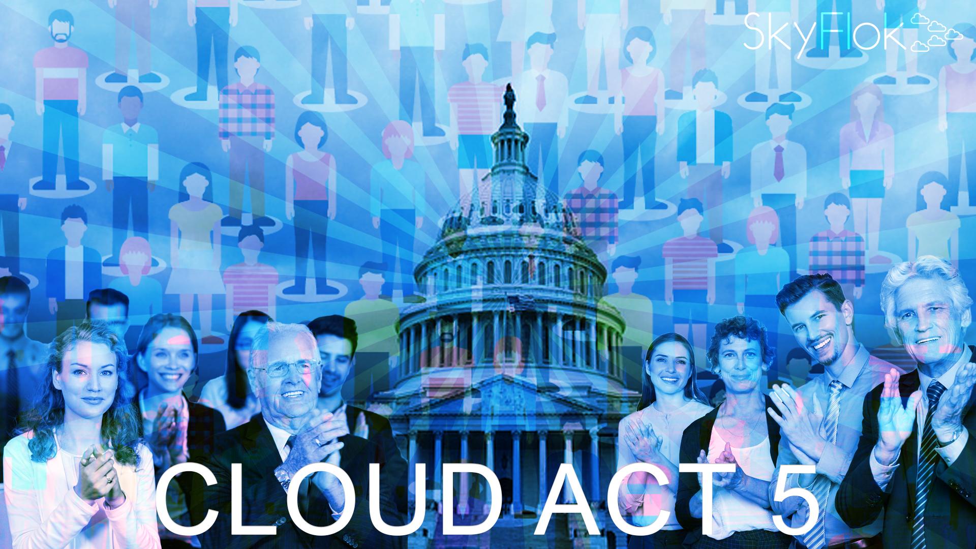 "Tech Firms Applaud, Civil Society Blasts US ""CLOUD"" Act"