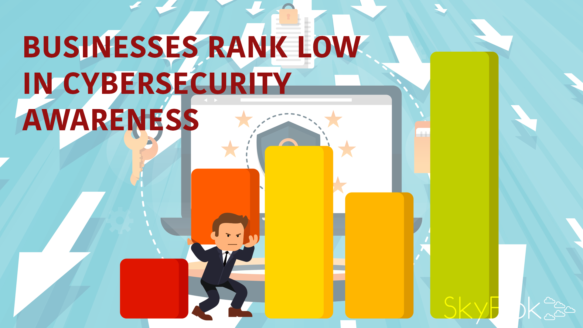 Businesses rank low in cybersecurity awareness