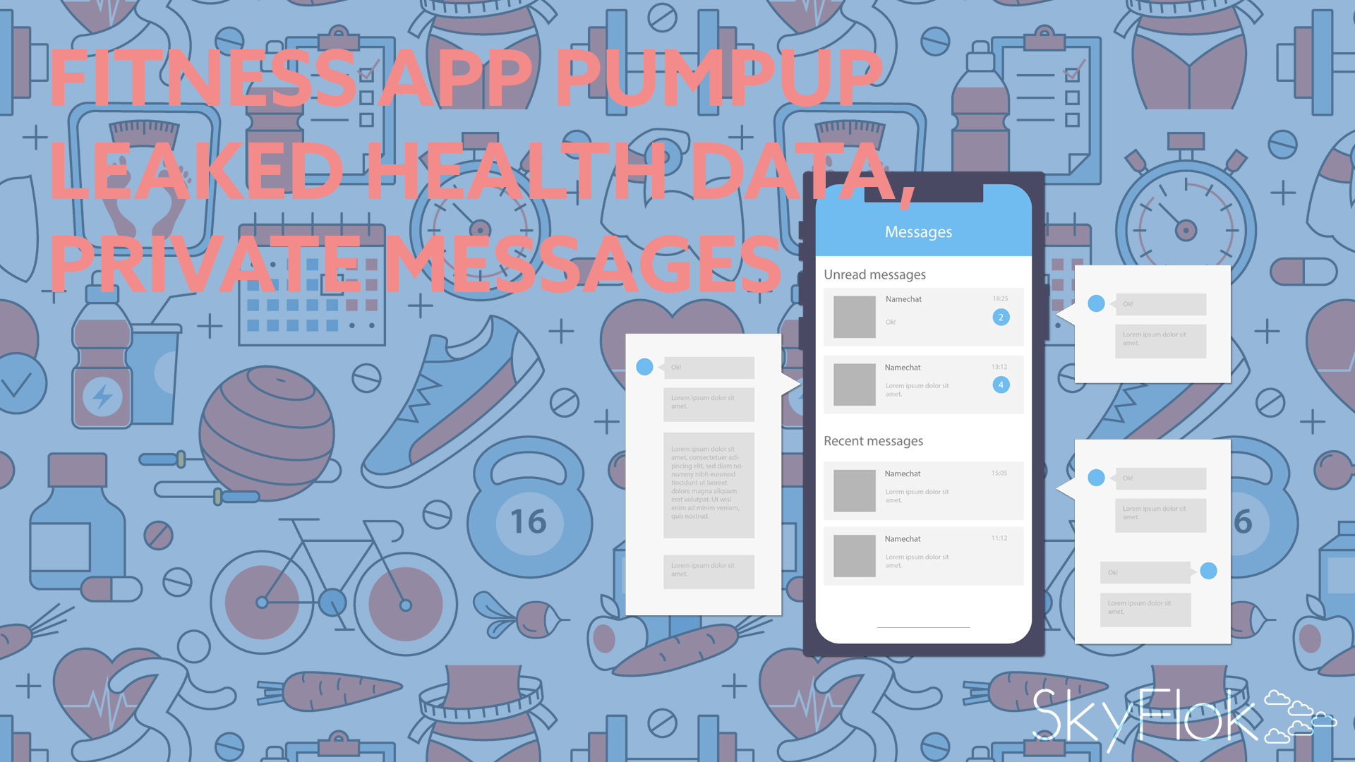 Fitness app PumpUp leaked health data, private messages