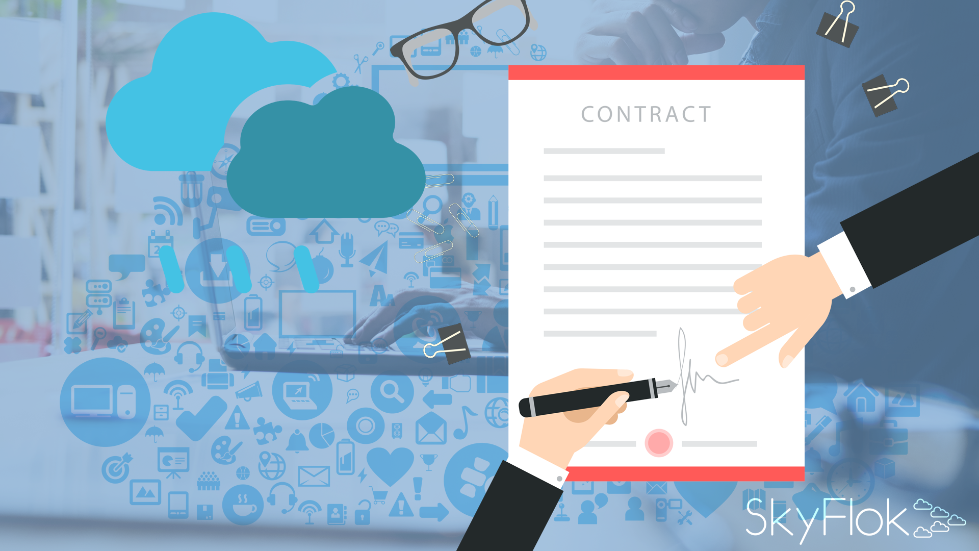 Partly Cloudy With A Chance Of Rain: Contractual Considerations For Lawyers Using The Cloud