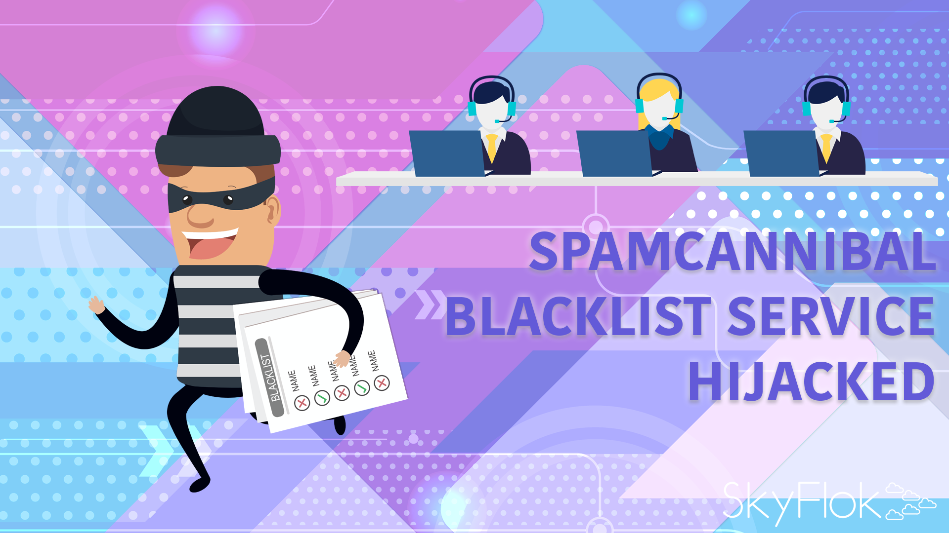 SpamCannibal blacklist service hijacked