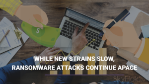 While New Strains Slow, Ransomware Attacks Continue Apace