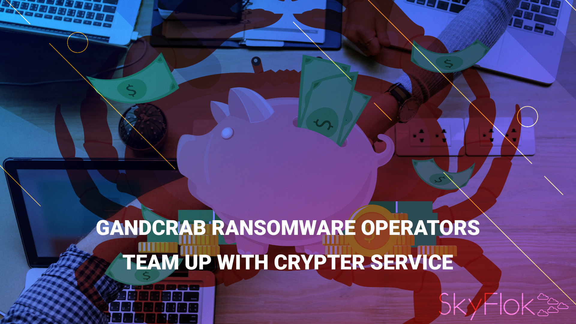 GandCrab ransomware operators team up with crypter service