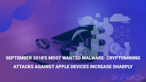 September 2018's Most Wanted Malware: Cryptomining Attacks Against Apple Devices Increase Sharply