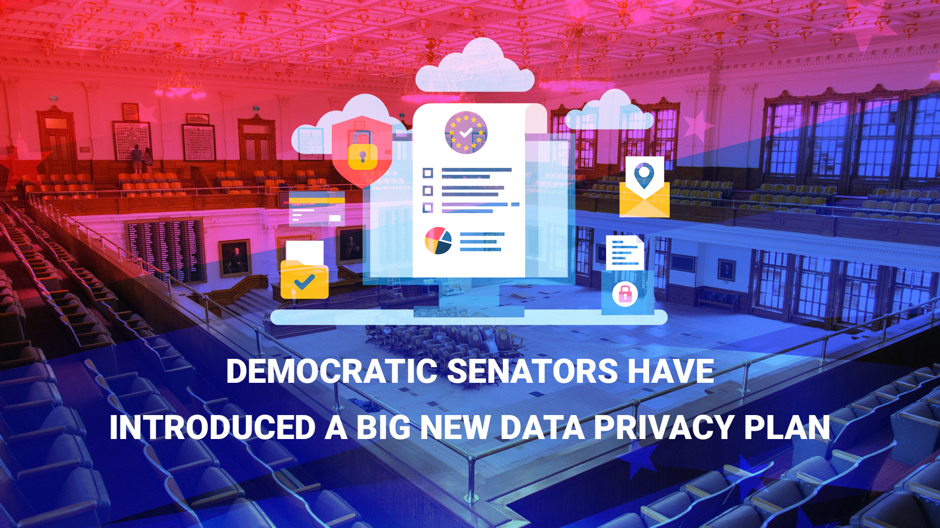 Democratic senators have introduced a big new data privacy plan