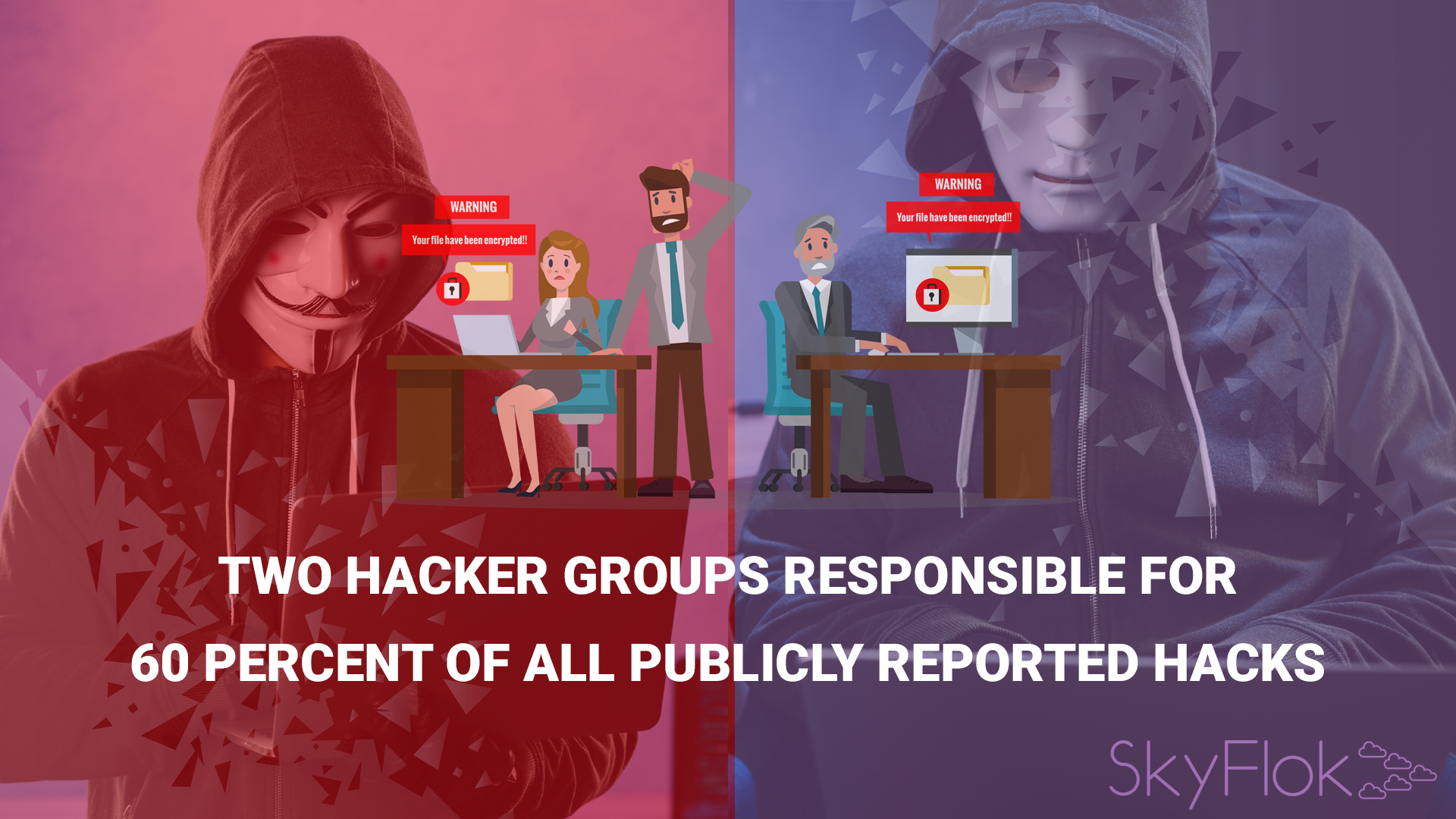 Two hacker groups responsible for 60 percent of all publicly reported hacks